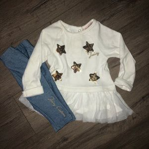 Juicy couture winter Boutique Baby Outfit